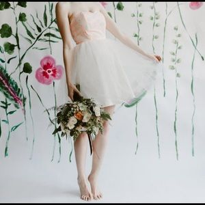 Jordan de Ruiter Swan Halter Backless Dress